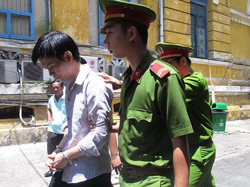 Bị cáo Nguyễn Hữu Lợi tại phiên tòa phúc thẩm