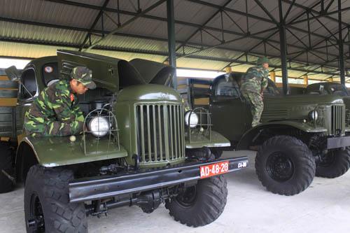 Các loại khí tài, trang bị khác của Lữ đoàn cũng luôn được bảo quản, bảo dưỡng, góp phần duy trì và nâng cao khả năng cơ động, sẵn sàng chiến đấu của đơn vị.