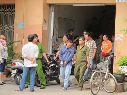 Hung thủ bị bắt ngay sau khi gây án