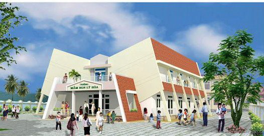 Trường Mầm non Lý Hòa được gia đình ông Phan Hải đầu tư  4 tỉ đồng