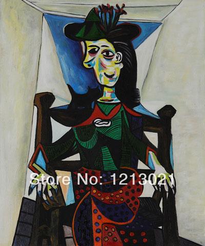 Bức họa Dora Maar và mèo của Picasso
