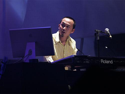 Nhạc sĩ Quốc Trung Ảnh: THANH VY