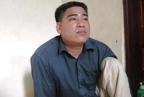 """Ngư dân Nguyễn Văn Tuy, người """"cướp cơm của thần biển"""" Ảnh: TUẤN MINH"""