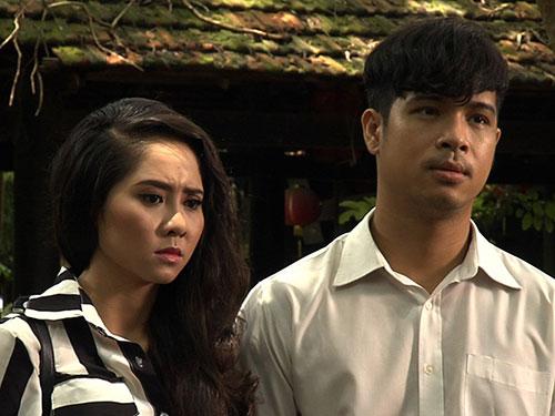 Diễn viên Tường Vi và Trương Thế Vinh trong phim Đam mê nghiệt ngã (Ảnh do đoàn phim cung cấp)