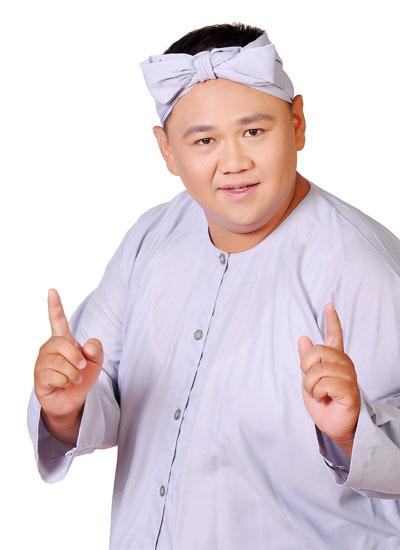 """Hình ảnh thân quen của Minh Béo trong chương trình """"Lục lạc vàng"""". (Ảnh do nghệ sĩ cung cấp)"""