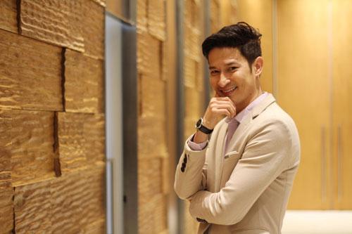 Diễn viên Huy Khánh Ảnh: Hoàng Triều