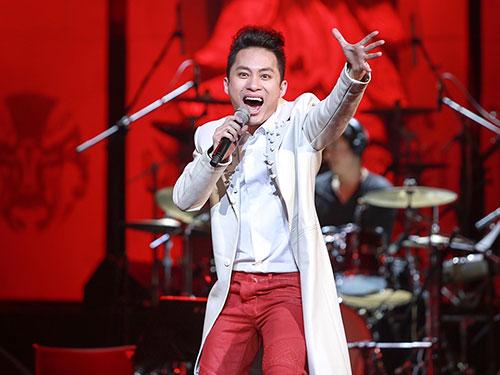Ca sĩ Tùng Dương Ảnh: HẢI BÁ
