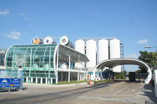Nhà máy bia của VBL tại quận 12, TP HCM - nơi sản xuất những sản phẩm bia  nổi tiếng như Heineken và Tiger