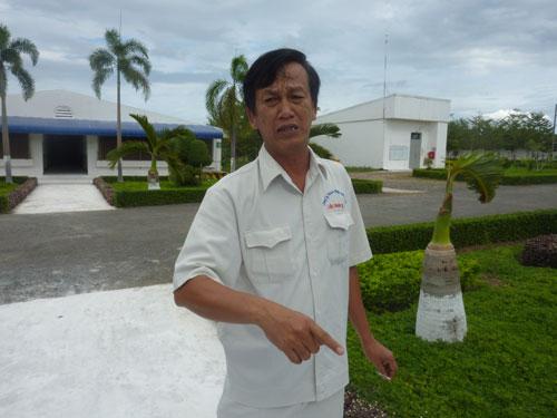 Ông Nguyễn Trung Hiếu với trang trại trị giá gần 6 triệu USD