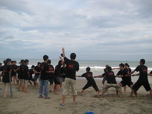 Nhân viên Soncamedia vui chơi trong kỳ nghỉ