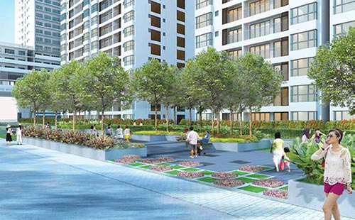 Không gian sống sinh thái và năng động ở Phú Mỹ Hưng phù hợp với các khách hàng trẻ
