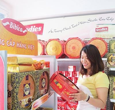 Bibica tung sản phẩm bánh kẹo Tết ra thị trường