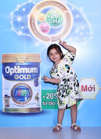 Sản phẩm Optimum Gold được bổ sung các dưỡng chất thông minh giúp tối ưu hóa sự phát triển trí não trẻ trong những năm đầu đời