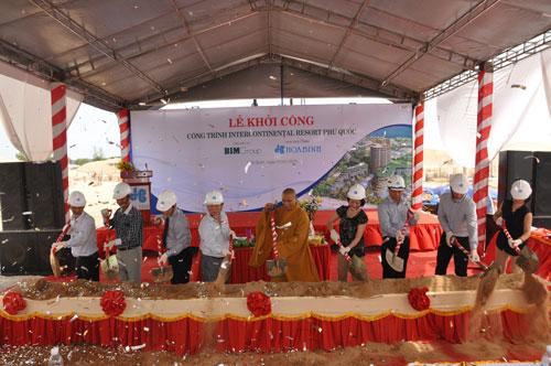 Lễ khởi công dự án Intercontinental Resort Phú Quốc