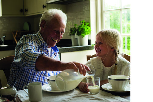 Sữa giúp người Hà Lan cao lớn và sống khỏe hơn