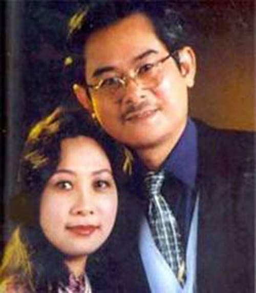 Nghệ sĩ Anh Dũng và vợ - nghệ sĩ Phương Thanh - đều được truy tặng NSND Ảnh TƯ LIỆU