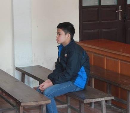 Nguyễn Hữu Cường tại tòa. Ảnh: Tú Ngọc