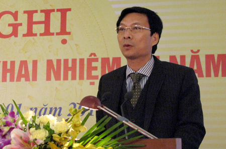Ông Nguyễn Văn Đọc, Bí thư Tỉnh ủy, Chủ tịch HĐND tỉnh Quảng Ninh