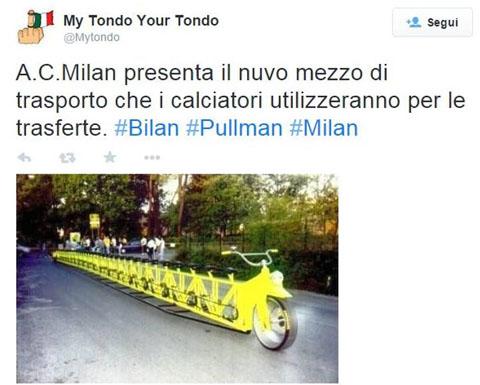 Xe độc quyền của AC Milan