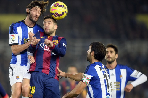 Barcelona thua Sociedad trận đấu đầu năm