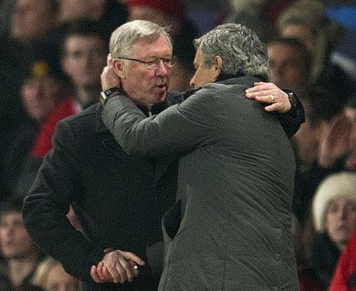 Alex Ferguson quý trọng tài năng của Mourinho từ lâu