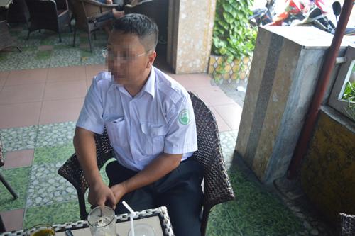 Tài xế dũng cảm Trương Quách Quang Nhật.