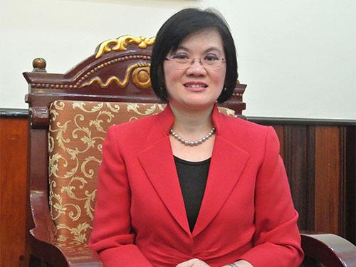 Bà Nguyễn Nguyệt Nga, Vụ trưởng Ngoại giao về kinh tế đầu tiên của Việt Nam - Ảnh: DƯƠNG NGỌC