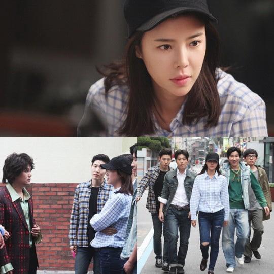 Vào vai một cô gái Seo In Ae thẳng thắn, cá tính ở thập niên 70, 80 – Hwang Jung Eum có tạo hình giản dị và đầy lạ lẫm.