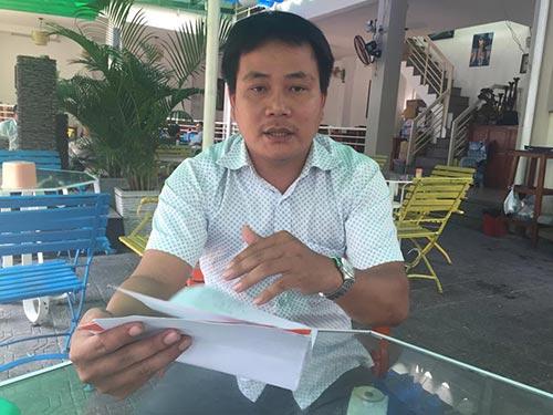 Ông Nguyễn Thanh Phương bức xúc về việc Becamex IJC không thực hiện đúng cam kết đã thỏa thuận, chiếm dụng tiền mua nền đất của ông