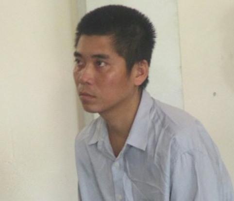 Bị cáo Trần Kim Dũng tại phiên tòa. Ảnh: Nam Đàn