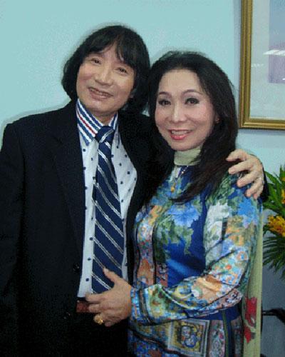 Nghệ sĩ Bạch Tuyết và Minh Vương