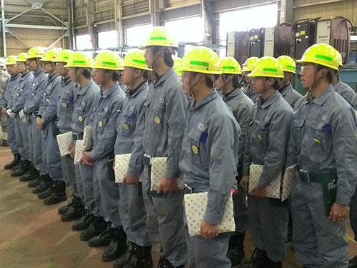 Thợ hàn do Công ty Nhật Hy Khang tuyển chọn cung ứng sang Nhật