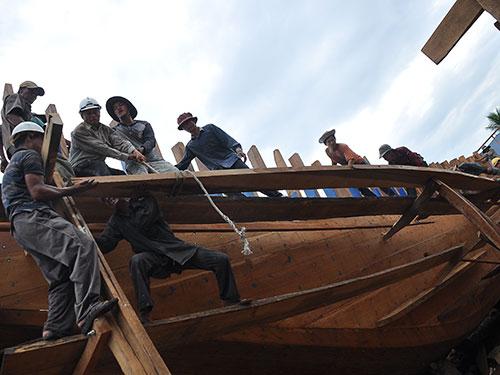 Tỉnh Quảng Ngãi có 40 tàu cá được phê duyệt vay vốn nhưng mới chỉ có 1 tàu được giải ngân
