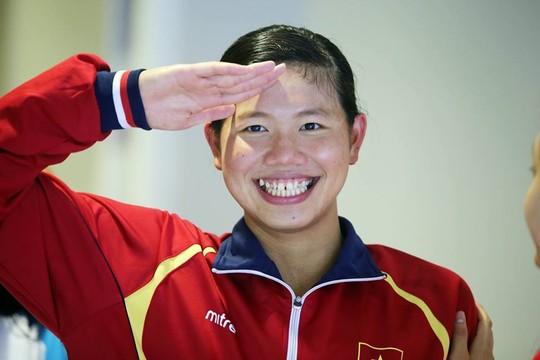 VĐV bơi lội Ánh Viên, một người con của Cần Thơ, đã giành nhiều thành tích xuất sắc tại SEA Games 28 vừa qua. Ảnh: NLĐ
