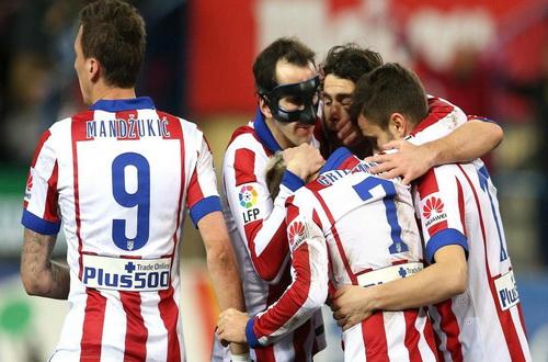 Mandzukic và Griezmann (7) nổ súng trong chiến thắng của Atletico