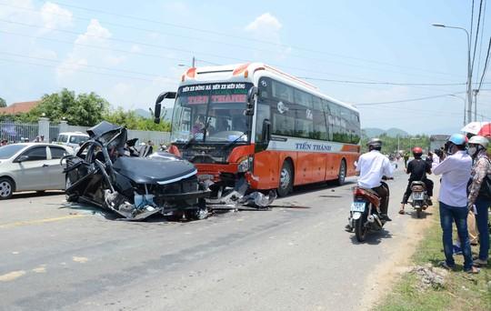 Vụ tai nạn ở TP Đà Nẵng hôm 29-4 khiến 6 người chết và 1 người bị thương. ảnh B Vân
