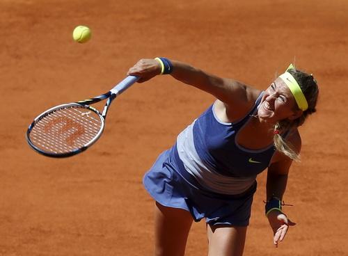 Azarenka một lần nữa bại trận trước kình địch Serena