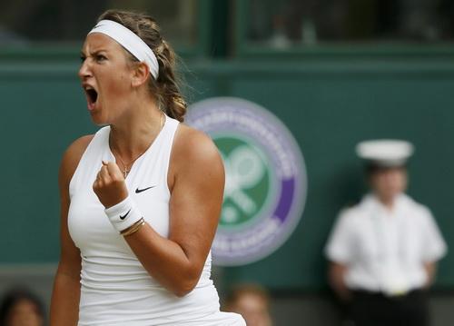 Azarenka thi đấu đầy quyết tâm nhưng vẫn không thể làm hơn Serena