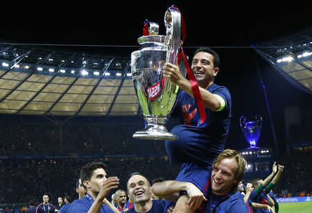Đây có lẽ là danh hiệu cuối cùng của đội trưởng Xavi bởi mùa sau anh sẽ sang Qatar thi đấu