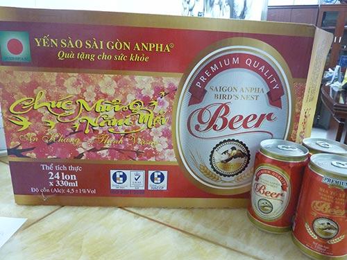 Sản phẩm bia tổ yến