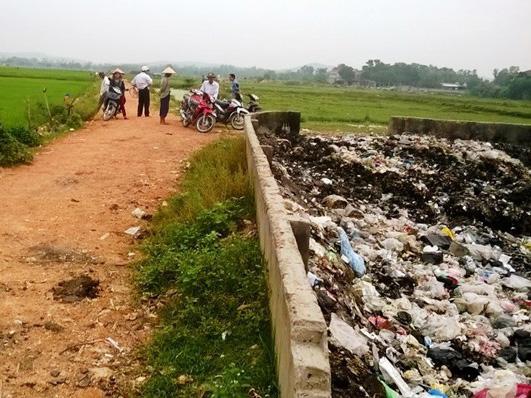 Bãi rác, nơi phát hiện chiếc chân người