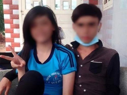 Nguyễn Đình Lộc (phải)- người tung clip ân ái lên mạng khiến một nữ sinh tự tửẢnh: Facebook