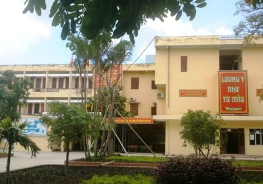 Bệnh viện Đa khoa TP Thanh Hóa, nơi phát hiện 2 trường hợp dùng bằng chuyên môn giả