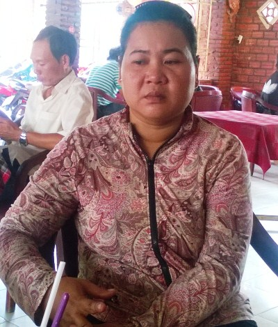 Bà Ni đau khổ tìm con gái bị mất tích hơn 10 ngày