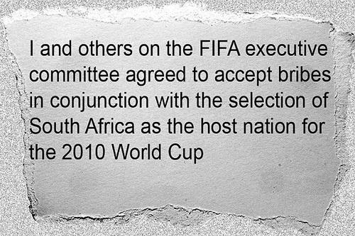 Bản khai của Chuck Blazer về việc nhận hối lộ xung quanh World Cup Nam Phi 2010