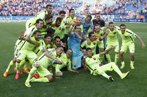 Barcelona có mùa giải hết sức ấn tượng với những chiến tích thuyết phục