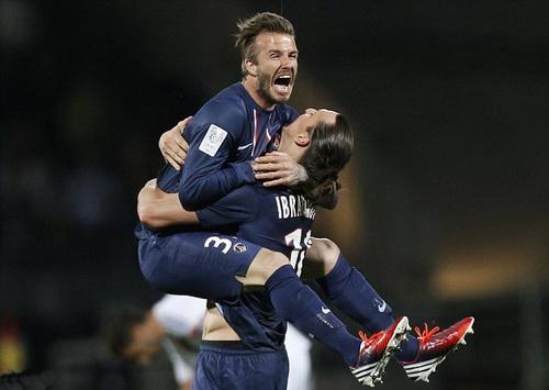 Beckham và chiêu tiếp thị thành công của PSG năm 2013