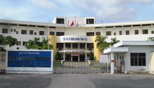 Bệnh viện Đa khoa tỉnh Cà Mau