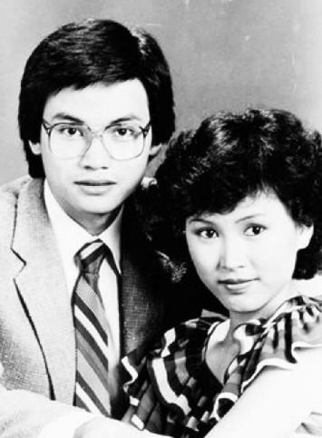 Vợ chồng Trần Tú Văn thời son trẻ Ảnh: 67.COM