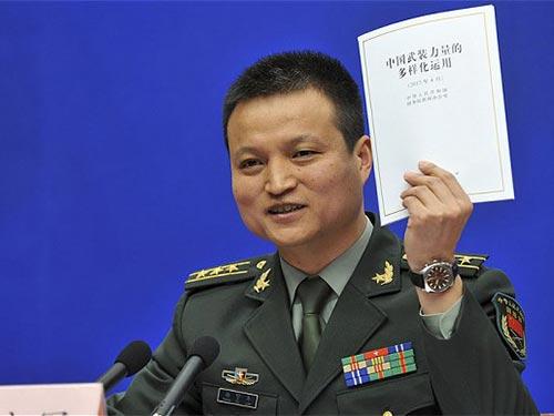 Sách trắng về chiến lược quân sự của Trung Quốc đang gây lo ngại Ảnh: REUTERS